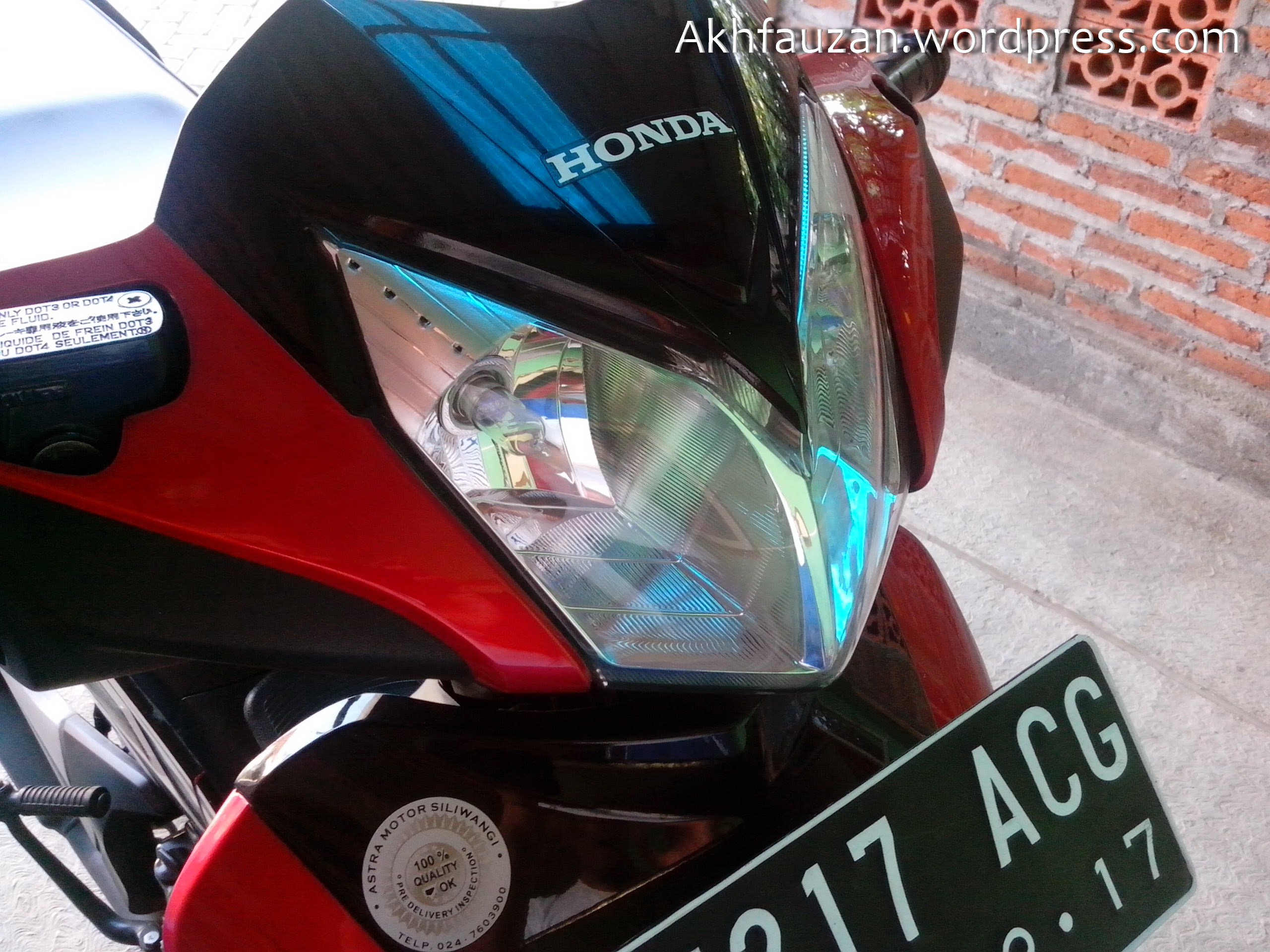 Ganti Lampu Depan Supra X125R Back To Nature To Save Our Planet