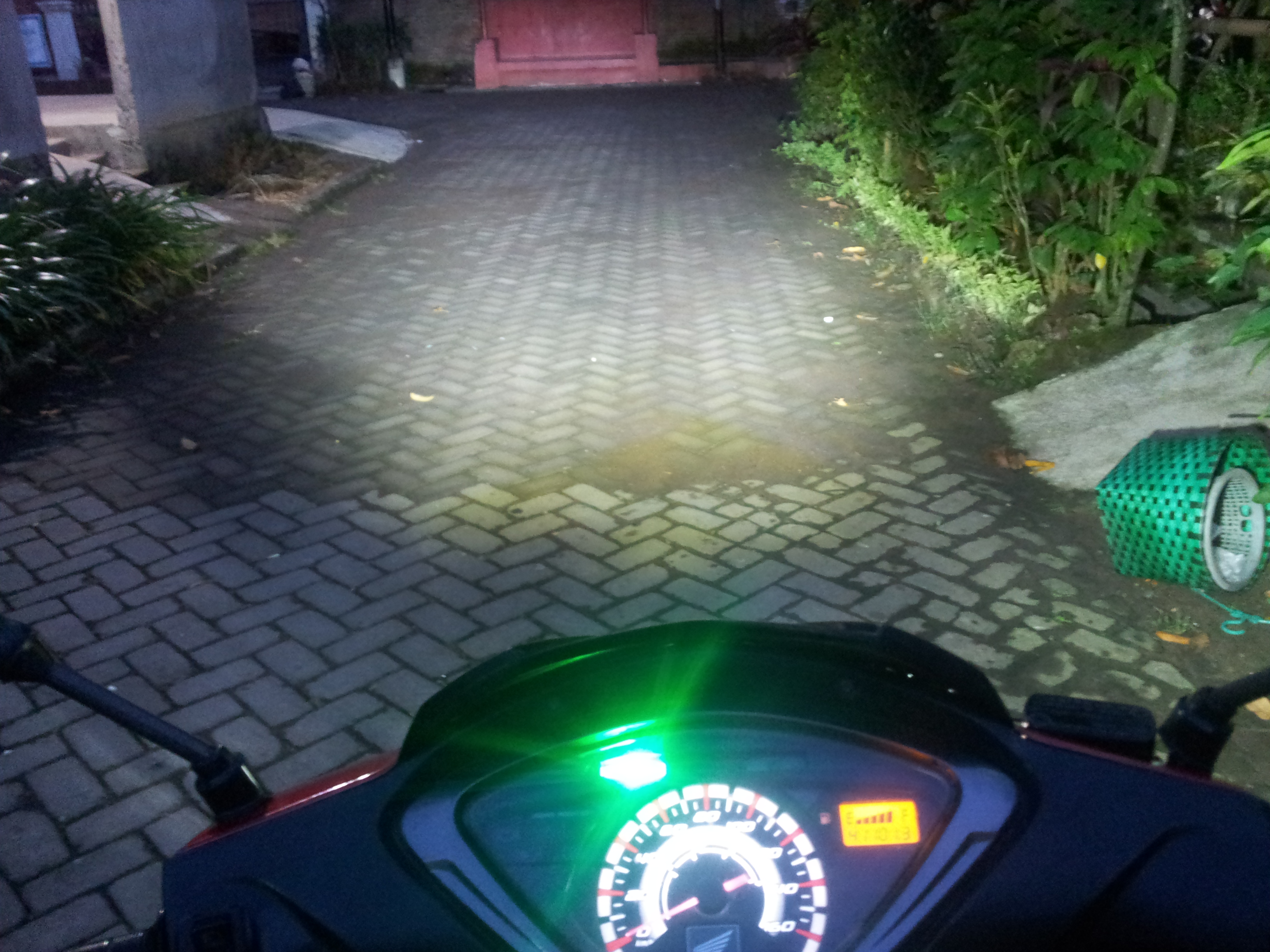 Modifikasi Lampu Honda Supra X 125 Back To Nature To Save Our Planet